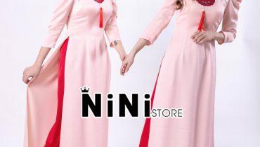 Cách phối màu áo dài hồng kết hợp với quần màu gì chuẩn nhất 2021