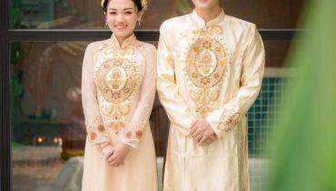BST xu hướng áo dài cưới năm 2021 dành các cặp cô dâu chú rể đẹp
