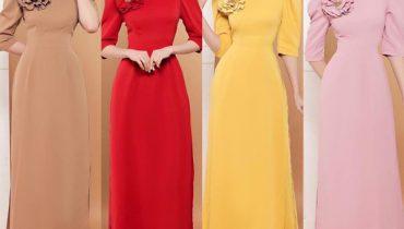Xu hướng 20 mẫu áo dài duyên dáng đáng yêu hot nhất 2020