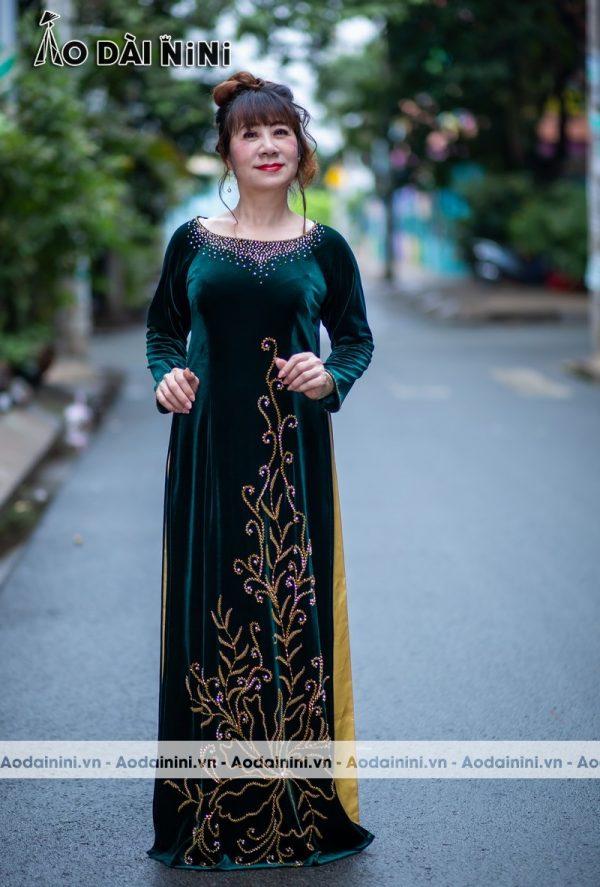 Mua vải may áo dài bà sui ở đâu tốt nhất TpHCM 2020?