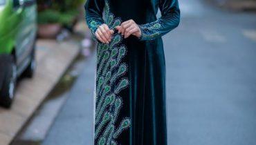 99 Mẫu áo dài cho người lớn tuổi: 60 – 80 tuổi mặc đẹp sang trọng 2021
