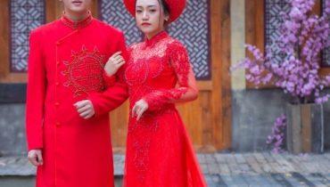 Top 10+ shop cho thuê áo dài cưới, bưng quả, bà sui TpHCM 2021