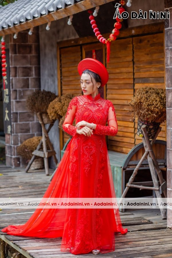 Bí kíp chọn vải may áo dài cưới cho Cô Dâu đẹp, xu hướng