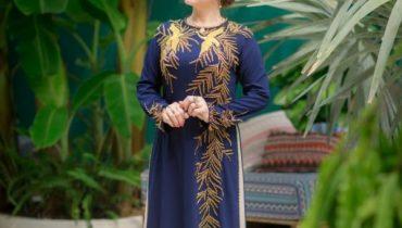 Top 15 mẫu áo dài cho quý bà sang trọng lộng lẫy nhất 2021