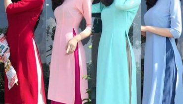 Top 10 mẫu áo dài bưng quả Cô Ba Sài Gòn đẹp nhất 2020