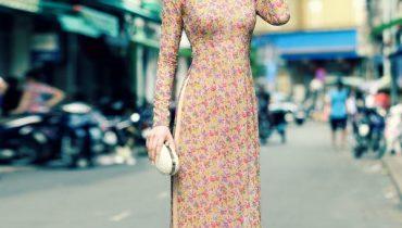 501+ Mẫu áo dài Hoa Nhí Đẹp 2021 Đú Trends ngất ngây