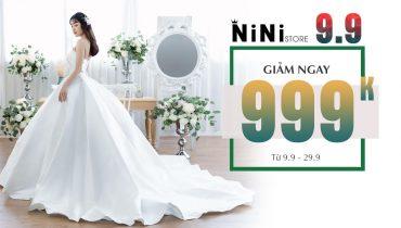 Ninistore 9.9 – Giảm ngay 999k