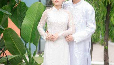 20+ Mẫu áo dài cưới trắng trơn đơn giản đẹp, mới nhất 2021