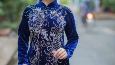 99 Mẫu áo dài cho người 40-50 tuổi đẹp nhất + sang trọng nhất 2021