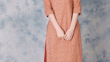 99 Mẫu áo dài cho người thấp tròn, nàng nấm lùn, hơi nhỏ 2021