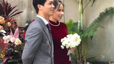 Xem bộ áo dài cưới của Viên Minh vợ Công Phượng 16/11/2020