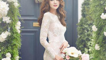 Những kiểu tóc cô dâu mặt tròn siêu dễ thương 2020