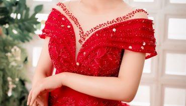 Top 10 mẫu váy cưới màu đỏ đẹp đơn giản ấn tượng nhất 2021