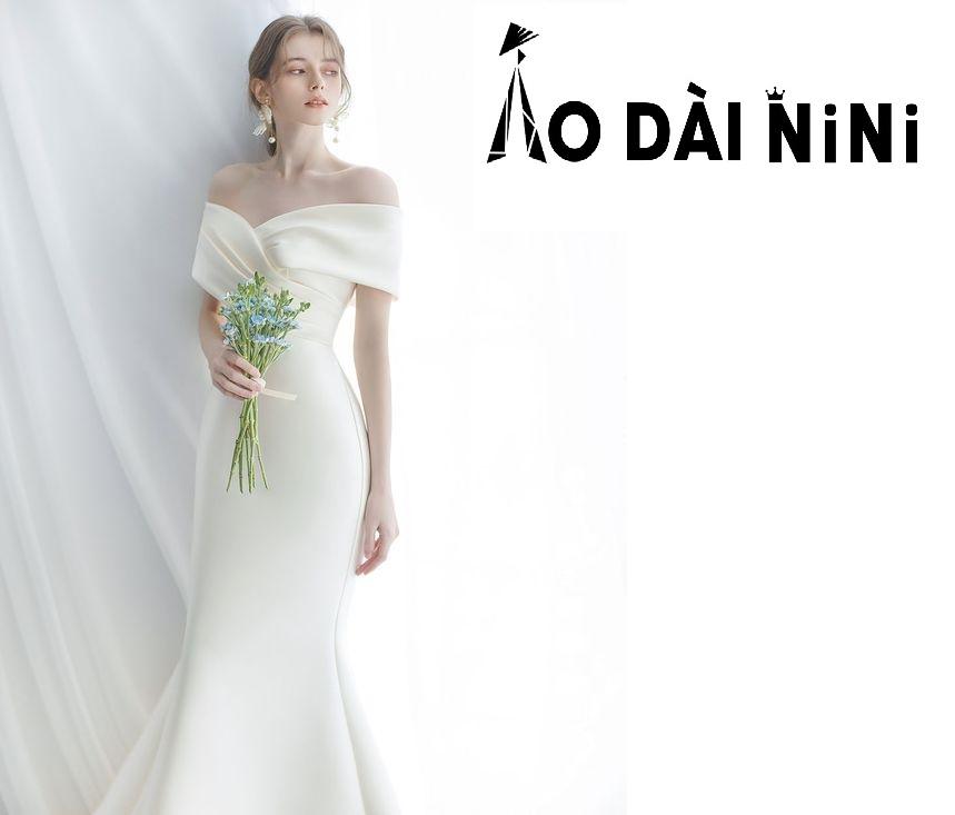 15 mẫu váy cưới đuôi cá theo xu hướng hot 2021